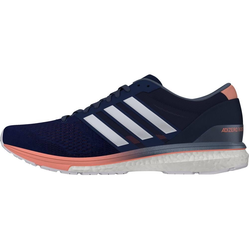 Adidas Adidas Womens Adizero Boston 6 (Noble Indigo/White/Raw Steel)