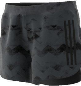 Adidas Adidas Mens Adizero Split Shorts Carbon S18