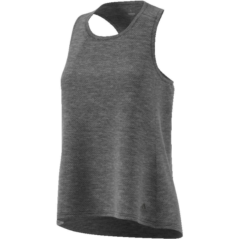 Adidas Adidas Womens Response Tank (Dark Grey Heather)