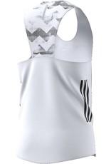 Adidas Adidas Mens Adizero Singlet (Crystal White)