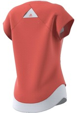 Adidas Adidas Womens TKO Tee (Trace Scarlet/Crystal White)