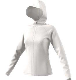 Adidas Adidas Womens Freelift Woven Hoodie (Chalk White)