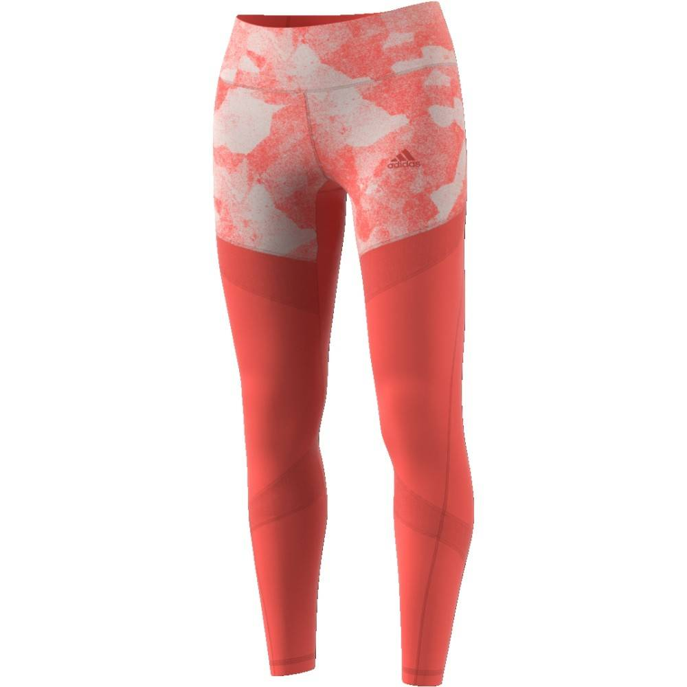 Adidas Adidas Womens Ultimate Tight (Trace Scarlet S18)