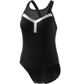 Adidas Adidas Womens One Piece Swimsuit (Black/Carbon)
