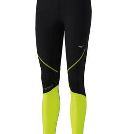 Mizuno Mizuno Womens BG3000 Long Tight (Black/Safety Yellow)