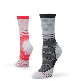 Stance Stance Run Womens Crew Sock - Gladiator