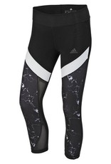 Adidas Adidas Womens Ultimate Marble 3/4 Tight