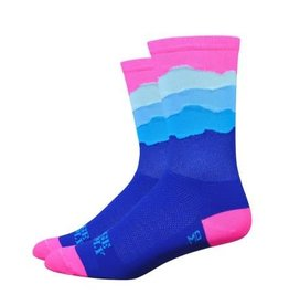 "DeFeet Ridge Supply Aireator 6"" Skyline Cycling Socks"