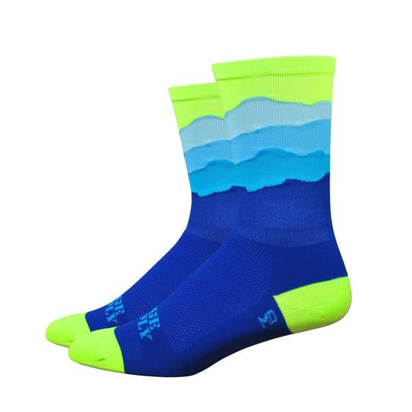 "DeFeet Ridge Supply Aireator 6"" Skyline Cycling Socks"
