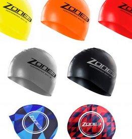 Zone 3 Zone 3 Silicone Swim Cap
