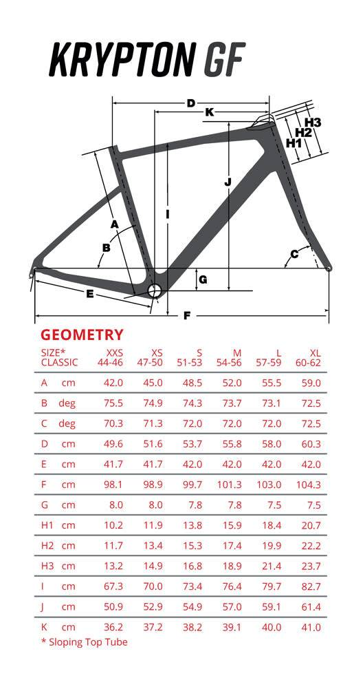 Argon 18 Argon 18 2018 Krypton GF Frame Kit