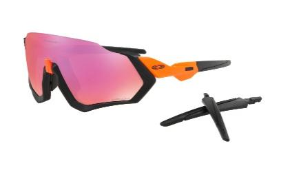Oakley Oakley Flight Jacket - Matte Black/Prizm Trail