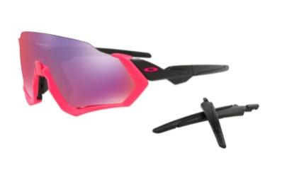 Oakley Oakley Flight Jacket - Neon Pink/Prizm Road