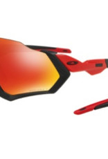 Oakley Oakley Flight Jacket - Black/Prizm Ruby Polarized