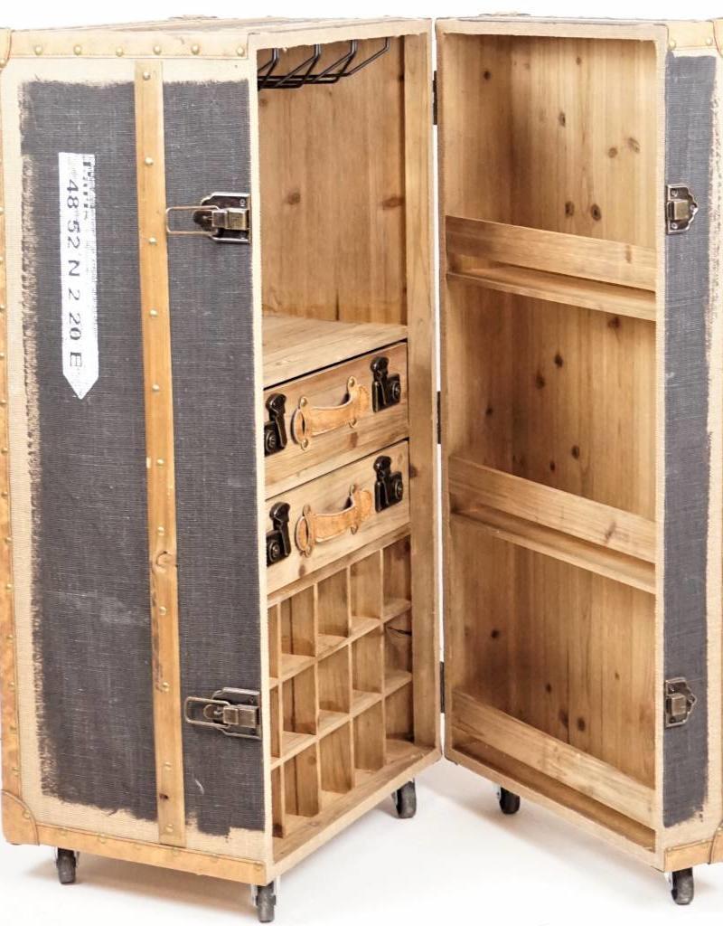 Schrankbar Koffer