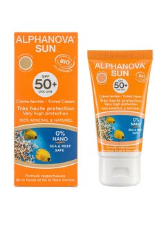 Alpha Nova Alphanova Sun Bio SPF 50+ Face Tinted Cream 50g