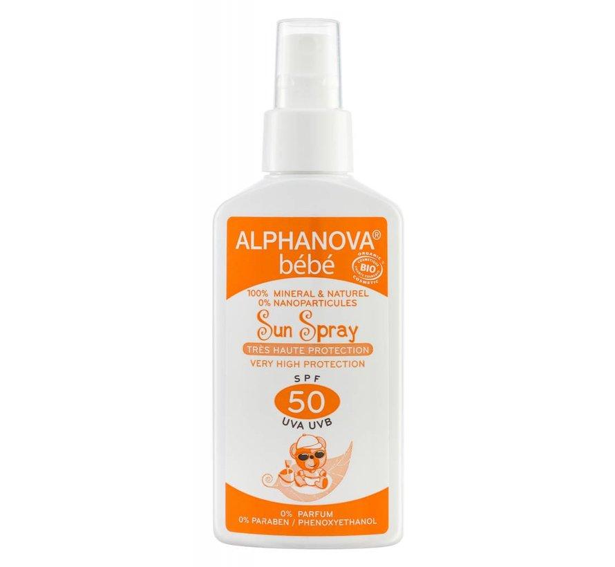 Alphanova Sun Bio SPF 50 Baby Spray 125g