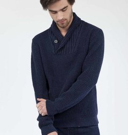 Mud Jeans Mud Jeans Robby Denim Sweater - Blue