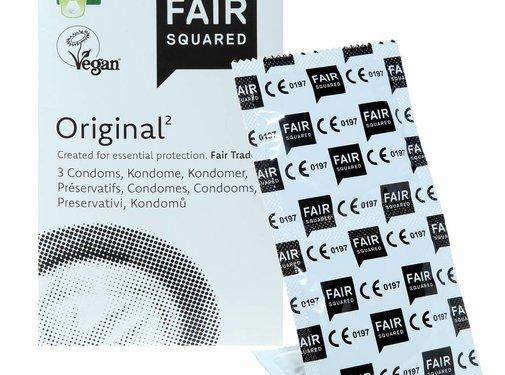 Fair Squared Fair Squared condooms Original - 3 pack