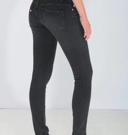Mud Jeans Mud Jeans Skinny Lilly - Stone Black
