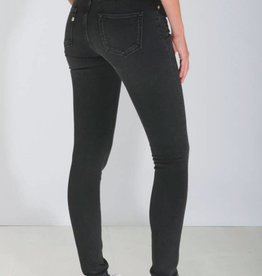 Mud Jeans Mud Jeans Skinny Hazen - Stone Black