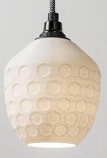 3D lights 3D lights Honeycomb hanglamp wit