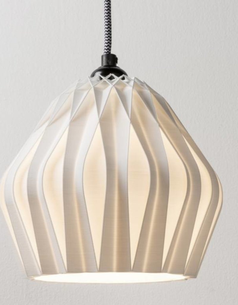 3D lights 3D Lights Flake hanglamp wit