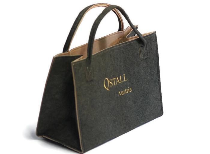 Qstall Original Qstall Filztasche® - mittel
