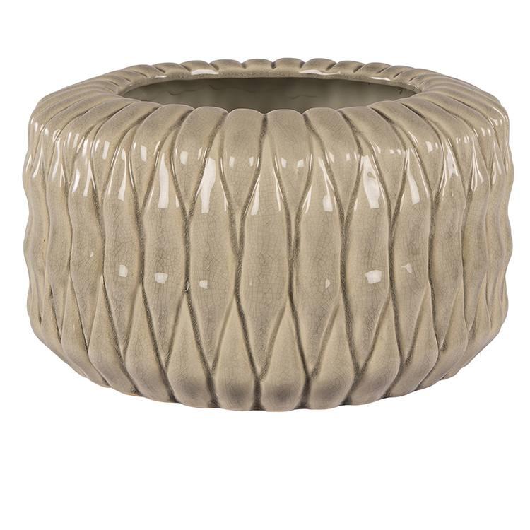 Broste Copenhagen Vase ANET 'L' Keramik H30cm Ø30cm