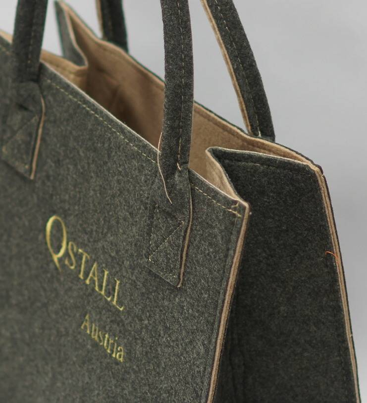 Qstall Original Qstall Filztasche® - klein