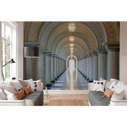Fototapete Säulengang