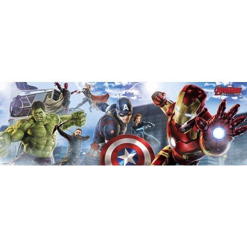 Poster Avengers Skyline