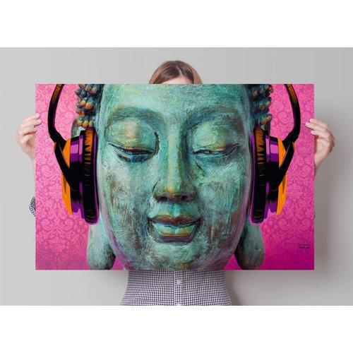 Poster Buddha chill