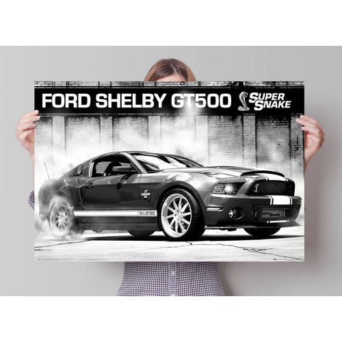 Poster Ford Shelby GT500 Supersnake