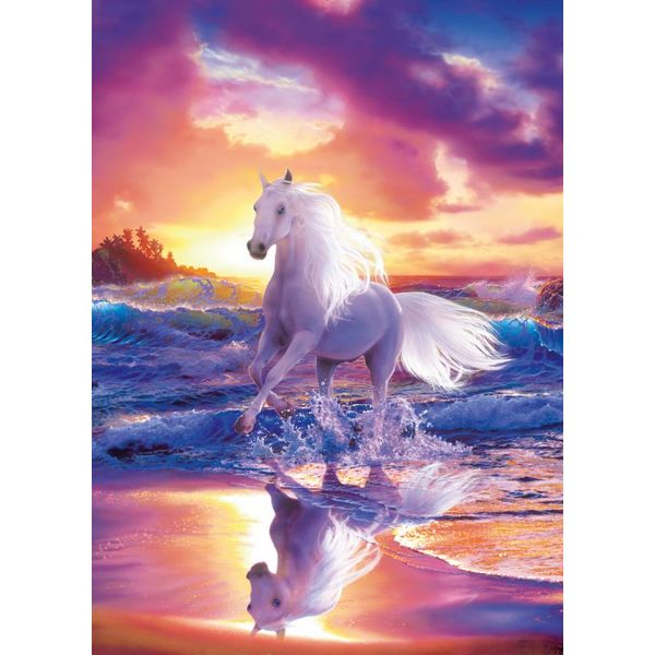 Pferde Fantasie - Fototapete 4-teilig 183 x 254 cm