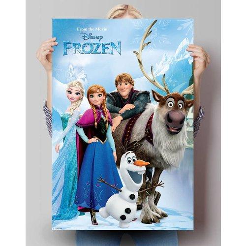 Poster Disney Die Eiskönigin See