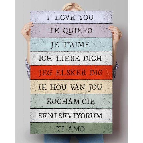Poster Ich liebe dich