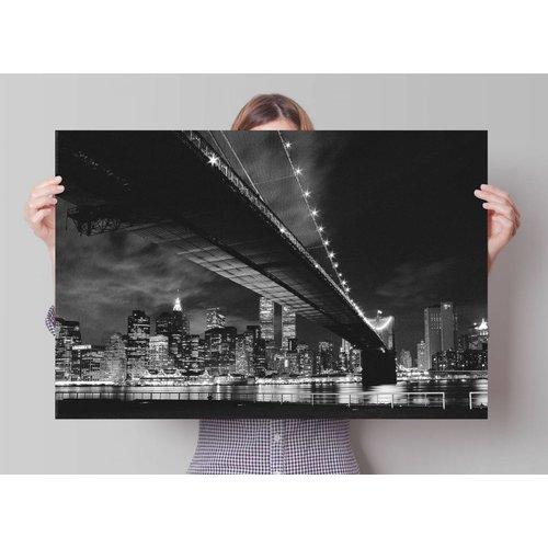 Poster Manhattan Nacht