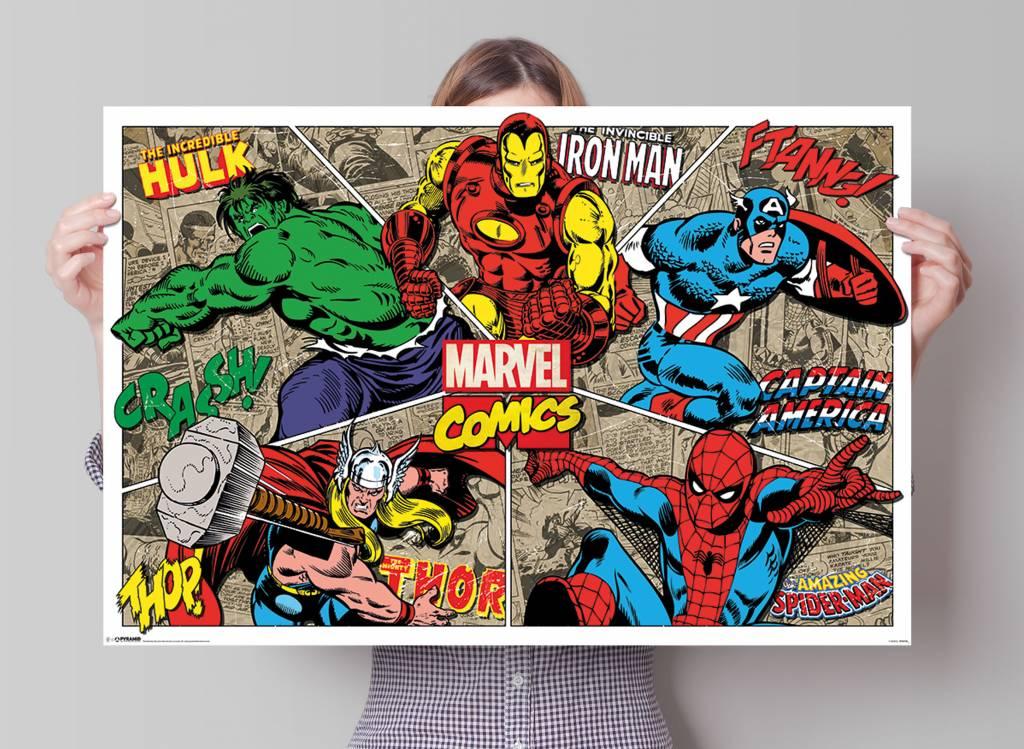 Marvel Superhelden   Poster - REINDERS!