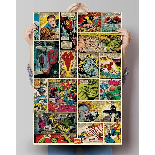 Poster Marvel Comics