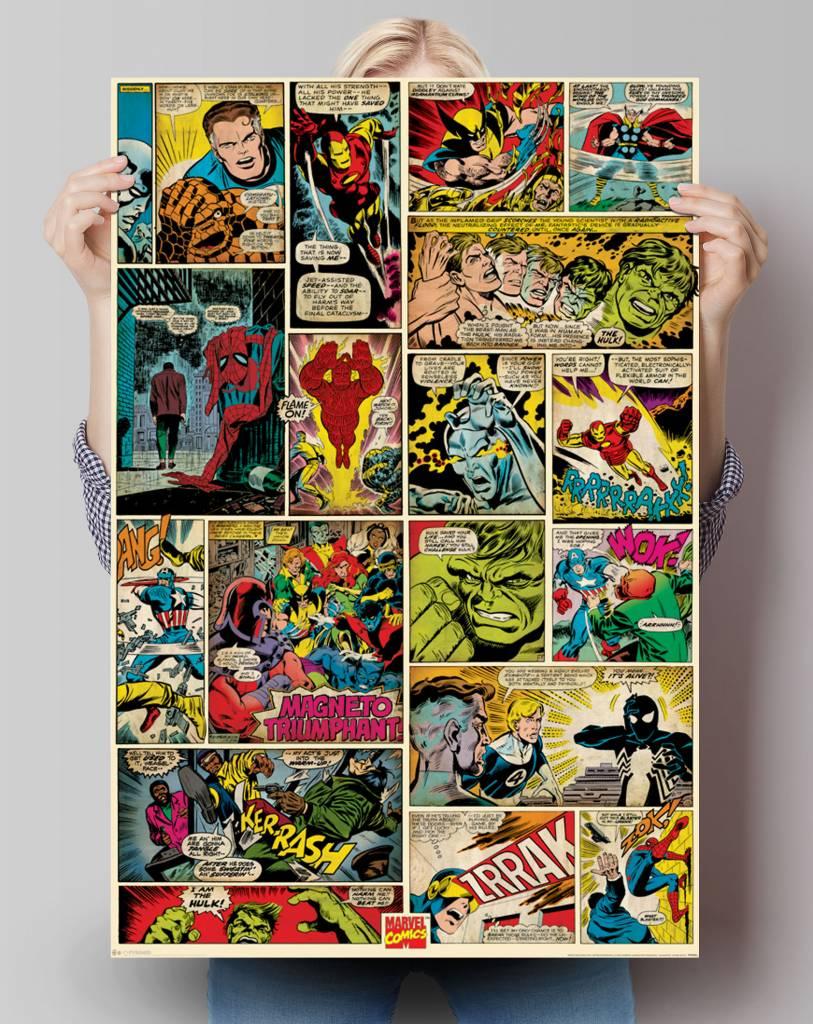 Marvel Comics comic panels | Poster - REINDERS!
