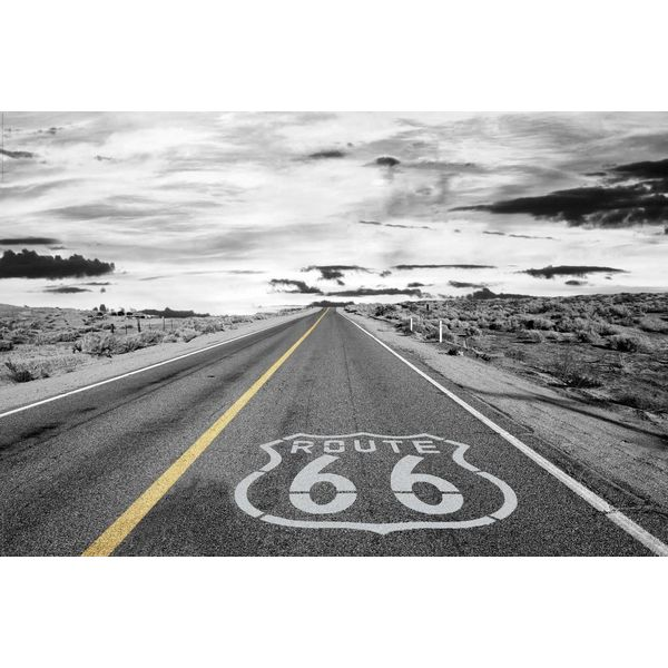 route 66 endlose strasse poster reinders. Black Bedroom Furniture Sets. Home Design Ideas