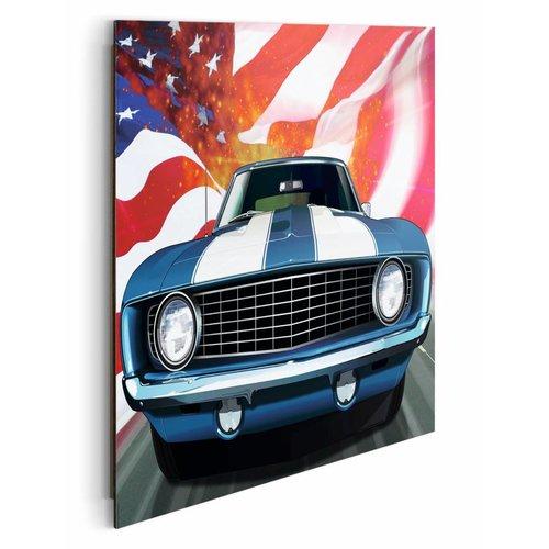 Wandbild Amerikanisches Auto