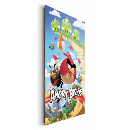 Wandbild Angry Birds Angriff