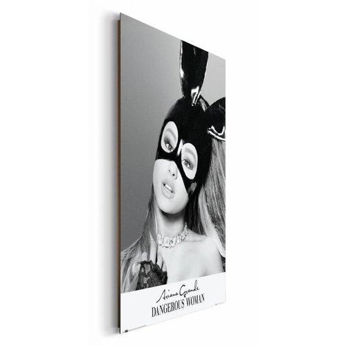 Wandbild Ariana Grande Maske