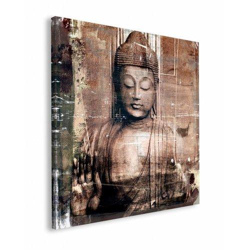 Wandbild Buddha III