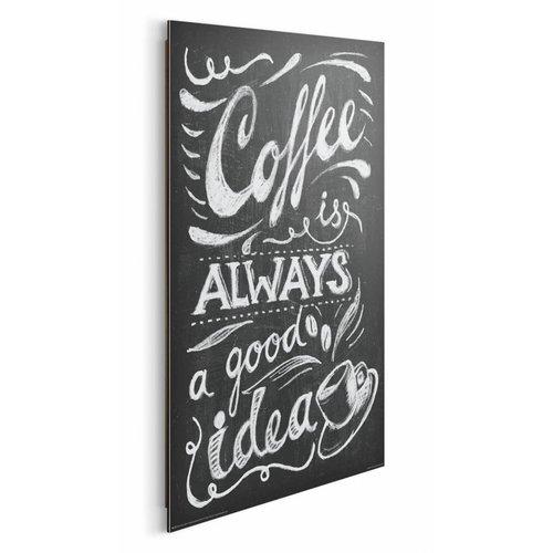 Wandbild Kaffe gute Idee