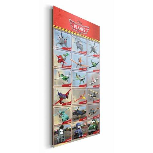 Wandbild Disney´s Planes Charaktere