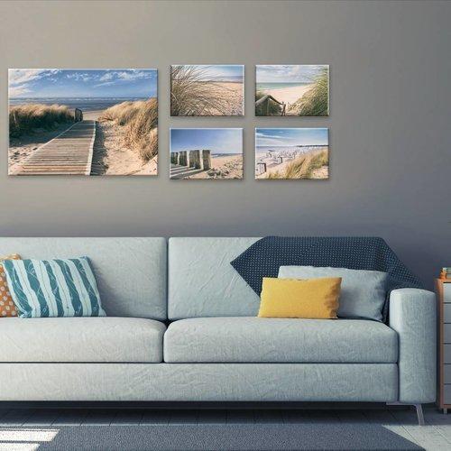 Wandbilder 5-teilig Dünen Set