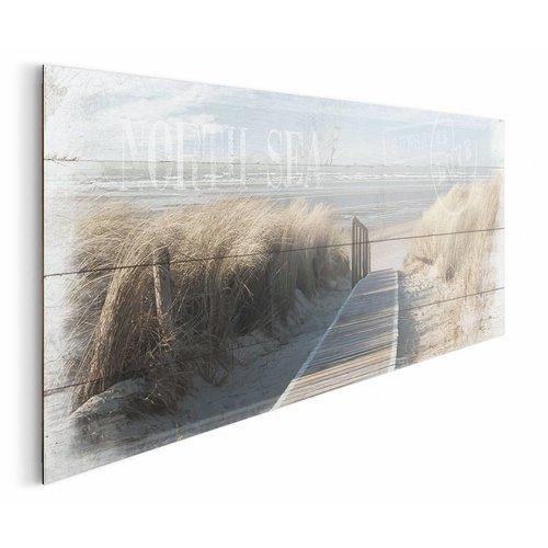 Wandbild Weg zum Meer